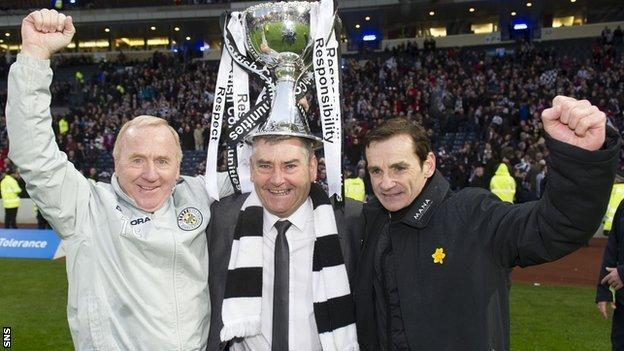 Tommy Craig, Stewart Gilmour and Danny Lennon