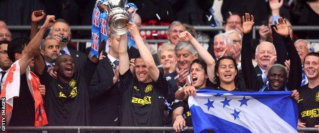 Wigan win the 2013 FA Cup
