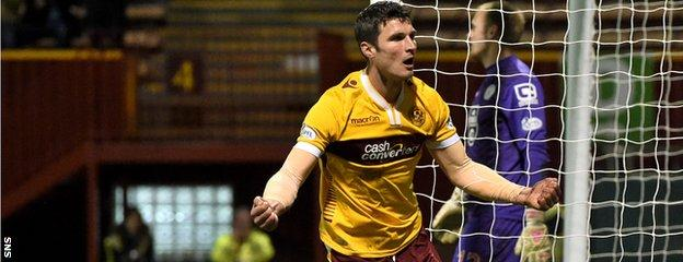 John Sutton scored his 10th and 11th goals of the season