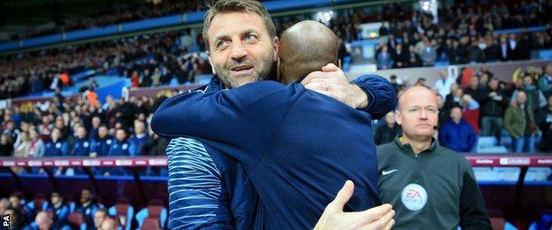 QPR boss Chris Ramsey served as Villa rival Tim Sherwood's assistant at Tottenham last season