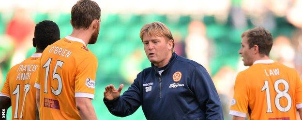 Stuart McCall during his time with Motherwell