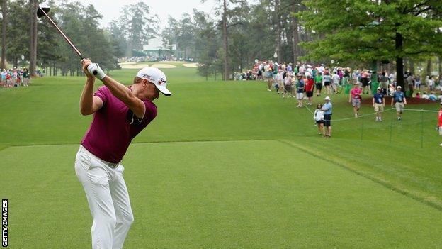 Jamie Donaldson, golf
