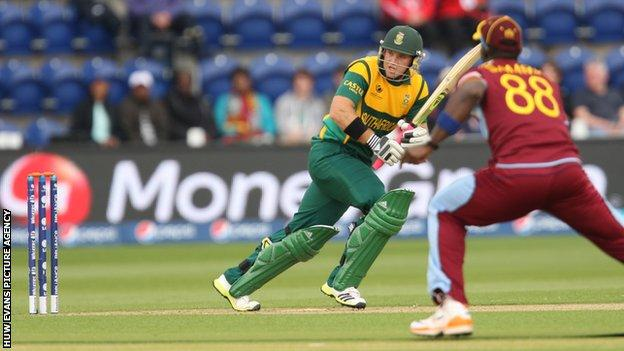 Colin Ingram in action for South Africa