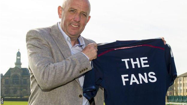 Gary McAllister launches the new organisation
