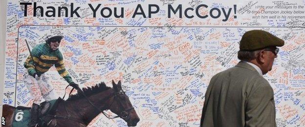 AP McCoy tribute