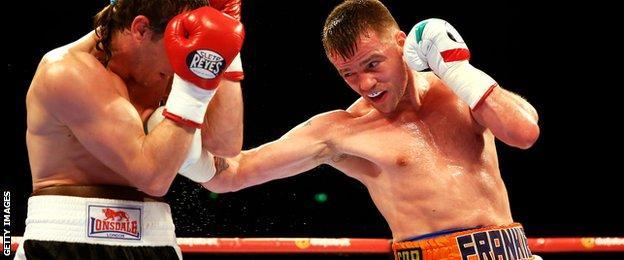 Frankie Gavin against Bogdan Mitic