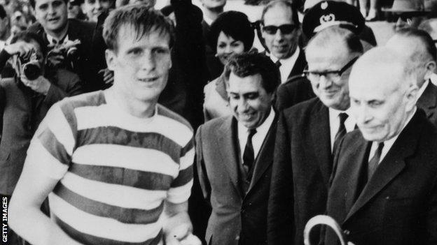 Celtic captain Billy McNeill in 1967
