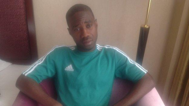 Nigeria's Bernard Bulbwa