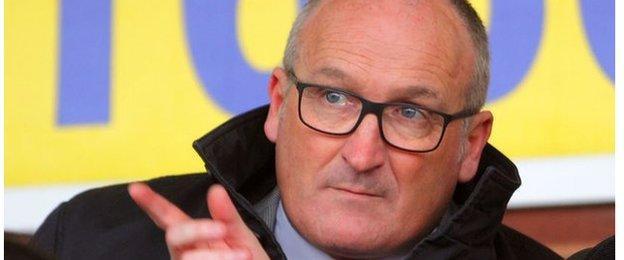 New Kidderminster Harriers vice-chairman Rod Brown