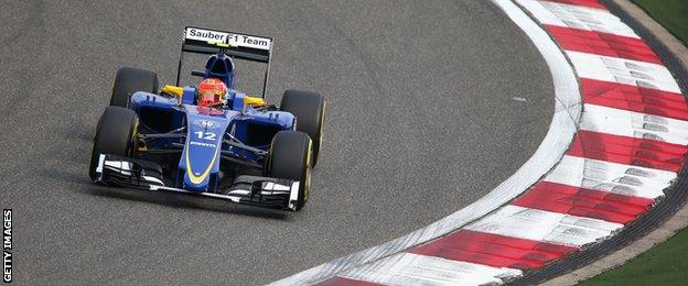 Both Saubers showed respectable pace in Q1 and Q2