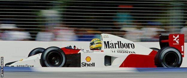 Ayrton Senna's records came at Monza, Monaco, Adelaide and Imola