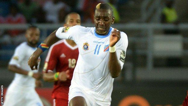 DR Congo forward Yannick Bolasie