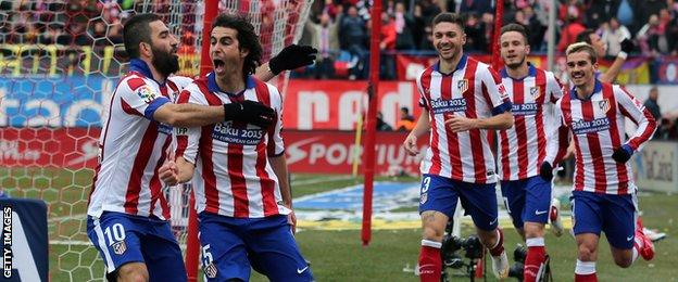 Atletico Madrid 4-0 Real Madrid