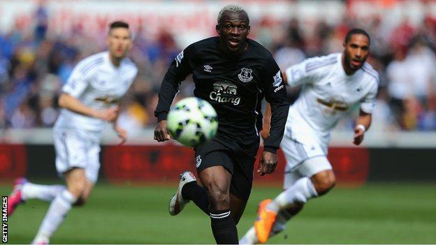 Everton striker Arouna Kone has won 39 caps for Ivory Coast