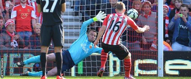 James Ward-Prowse penalty
