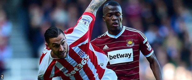 West Ham v Stoke City