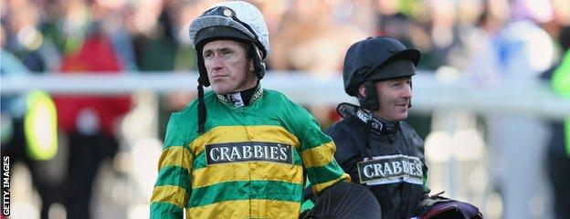 AP McCoy and DJ Casey