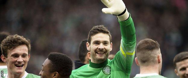 Craig Gordon has had an impressive first season for Celtic