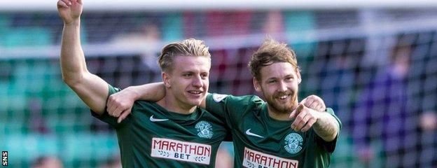 Hibs have the bottle to cope with the demands of the promotions race, says Alan Stubbs