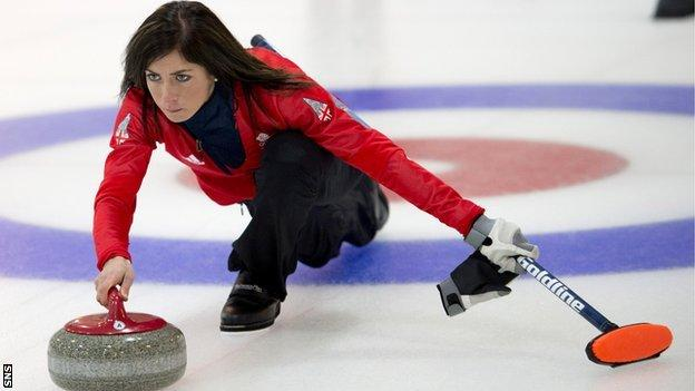 Eve Muirhead's rink were Olympic bronze medallists in 2014