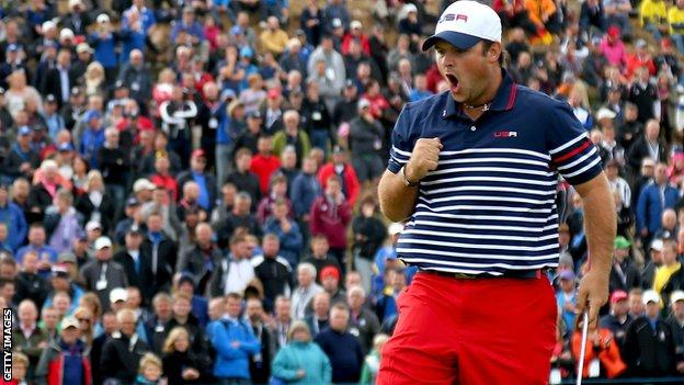 Patrick Reed made an impressive Ryder Cup debut at Gleneagles