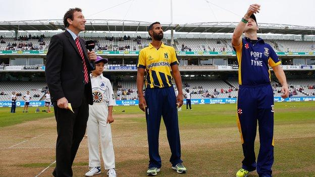Varun Chopra skippered the Bears in both their one-day final appearances, at Lord's and Edgbaston last summer