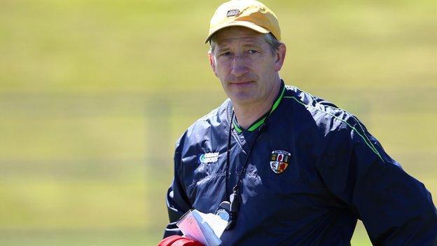 Antrim hurling manager Kevin Ryan