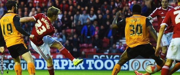 Middlesbrough v Wolves