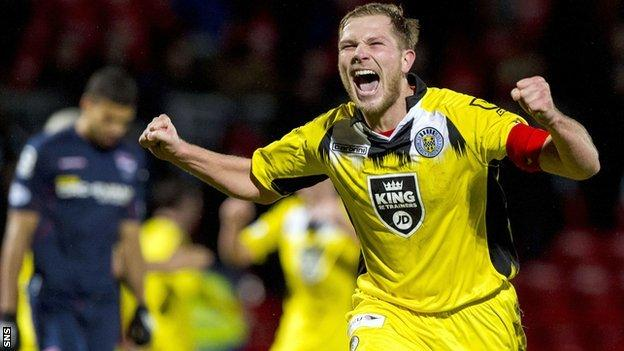 Marc McAusland made 186 appearances for St Mirren