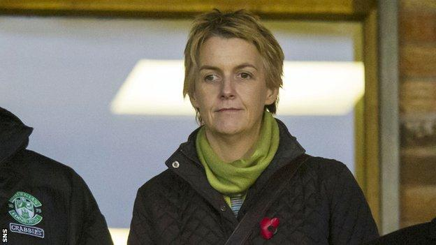 """Hibs chief executive Leeann Dempster says the SPFL has compromised """"sporting integrity"""""""