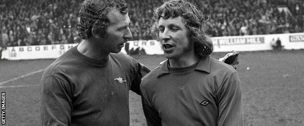 Bob Wilson and Jim Montgomery