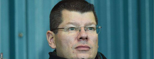SPFL chief executive Neil Doncaster is facing plenty fixture questions