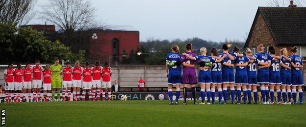 Arsenal Ladies v Bristol Academy Women