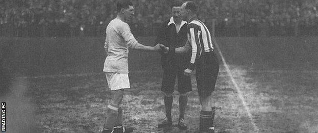 Cardiff beat Reading 3-0 in the 1927 semi-final