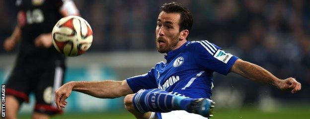 Swansea City have been linked to Schalke full back Christian Fuchs