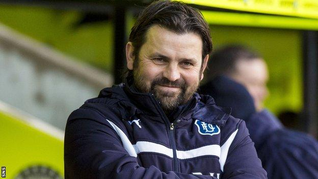 Paul Hartley has guided Dundee into the Premiership's top six