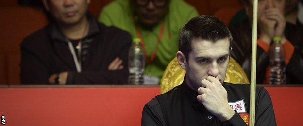 2014 World snooker champion Mark Selby
