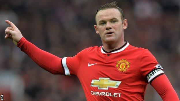 Manchester United striker Wayne Rooney