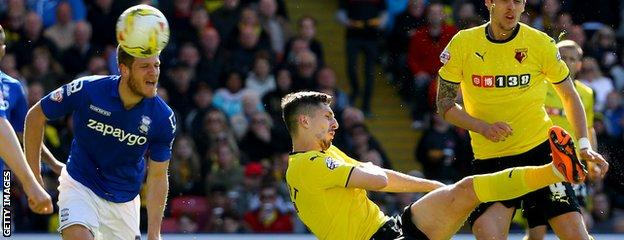 Craig Cathcart volley