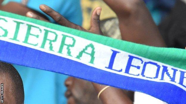 Sierra Leone fans