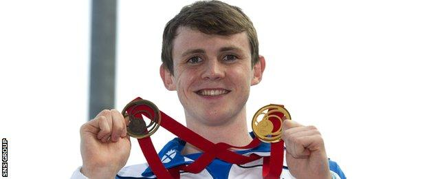 Murdoch enjoyed Commonwealth Games success, winning two medals in Glasgow