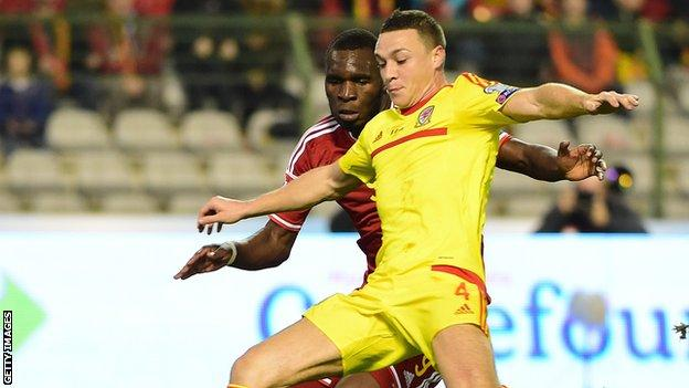 Wales defender James Chester
