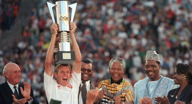 South Africa won the 1996 Africa Cup of Nations