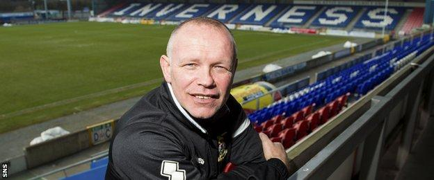 Inverness CT manager John Hughes
