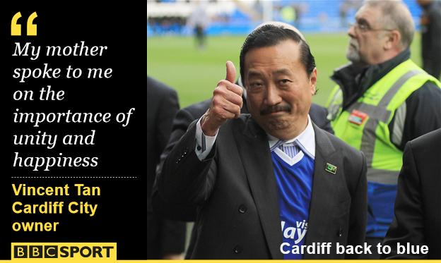 Vincent Tan, Cardiff City