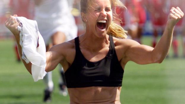 bc729d25dc75d How sports bras helped transform women s approach to sport - BBC Sport