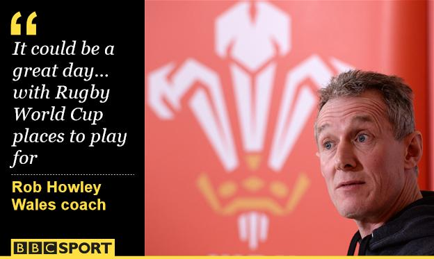 Wales attack coach Rob Howley