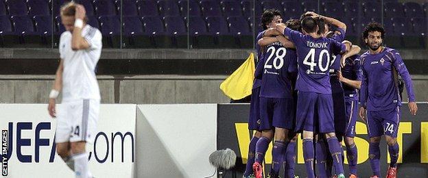 Fiorentina v Dynamo Kiev