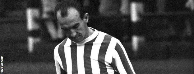 Kilmarnock hero Davie Sneddon