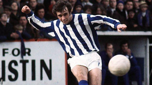 Tommy McLean was with Kilmarnock from 1964 to 1971